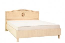 Кровать двуспальная как часть комплекта Флорис, Клен, MEBEL SERVICE (Украина)