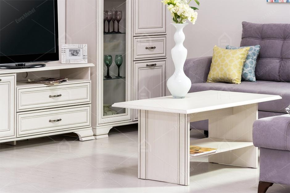 набор мебели для гостиной тиффани 5605 вудлайн кремовый анрэкс